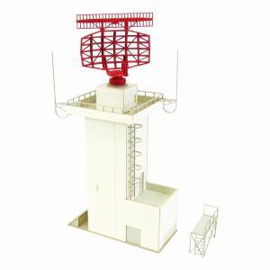 みにちゅあーとキット 1/144 航空情景シリーズ 航空管制レーダー塔 MK08-05|miniatuart