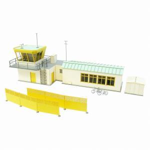 みにちゅあーとキット 1/144 航空情景シリーズ 飛行クラブ管理棟 MK08-06|miniatuart