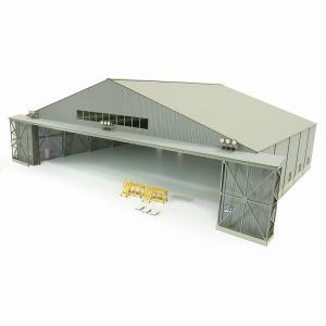 みにちゅあーとキット 1/144 航空情景シリーズ 機体整備格納庫 MK08-07|miniatuart