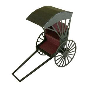 みにちゅあーとキット 1/43 みにちゅあーとプチ 人力車 MP01-06|miniatuart
