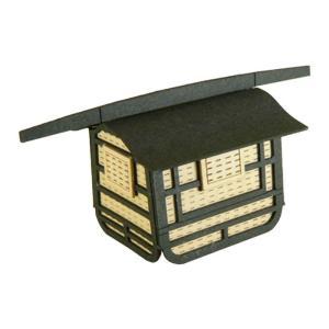 みにちゅあーとキット nonscale みにちゅあーとプチ 駕籠(かご) MP01-08|miniatuart