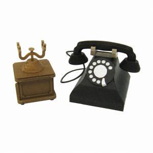 みにちゅあーとキット 1/8 みにちゅあーとプチ 黒電話 MP01-104|miniatuart