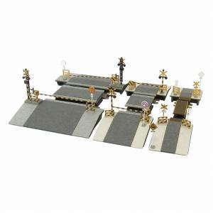 みにちゅあーとキット 1/220 みにちゅあーとプチ 踏切セット MP01-108|miniatuart