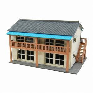 みにちゅあーとキット 1/220 みにちゅあーとプチ アパート MP01-119|miniatuart