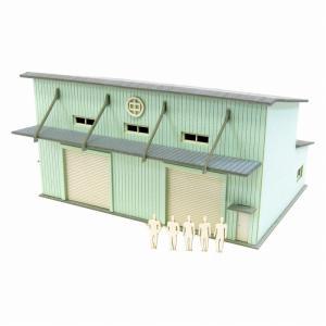みにちゅあーとキット 1/220 みにちゅあーとプチ 倉庫-2 MP01-139|miniatuart