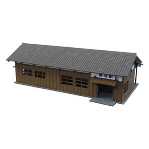 みにちゅあーとキット 1/220 みにちゅあーとプチ 駅舎-2 MP01-44|miniatuart