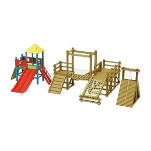 みにちゅあーとキット 1/150 なつかしのジオラマシリーズ アスレチック遊具 MP03-111 miniatuart