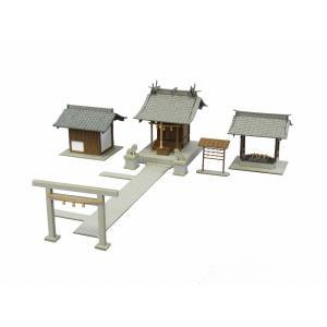 みにちゅあーとキット 1/150 なつかしのジオラマシリーズ 小さな神社 MP03-38 miniatuart