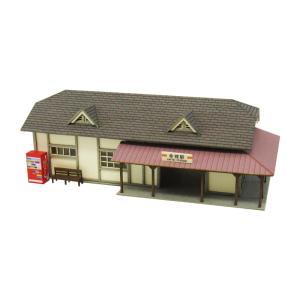 みにちゅあーとキット 1/150 なつかしのジオラマシリーズ 駅舎H MP03-65 miniatuart