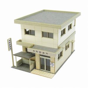 みにちゅあーとキット 1/150 なつかしのジオラマシリーズ 診療所 MP03-79 miniatuart