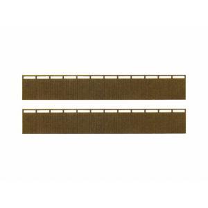 みにちゅあーとキット 1/150 ジオラマオプションキット 塀H(板塀) MP04-48|miniatuart
