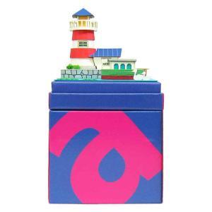みにちゅあーとキット nonscale みにちゅあーとmini ライトハウスとカナルボート MP05-08|miniatuart