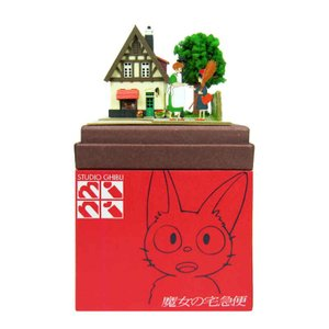 みにちゅあーとキット nonscale スタジオジブリmini 魔女の宅急便 オソノさんとキキ MP07-07 miniatuart