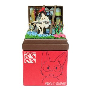 みにちゅあーとキット nonscale スタジオジブリmini 魔女の宅急便 魔女の薬草庫 MP07-121 miniatuart