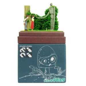 みにちゅあーとキット nonscale スタジオジブリmini 天空の城ラピュタ ロボット兵とシータとパズー MP07-19 miniatuart