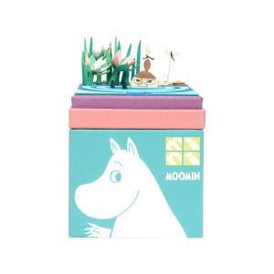 みにちゅあーとキット nonscale ムーミン mini ちびのミイ 水辺 MP09-01|miniatuart