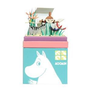 みにちゅあーとキット nonscale ムーミン mini ちびのミイ 箱の中 MP09-02|miniatuart