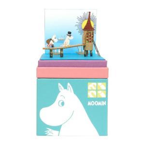 みにちゅあーとキット nonscale ムーミン mini 水浴び小屋 MP09-04|miniatuart