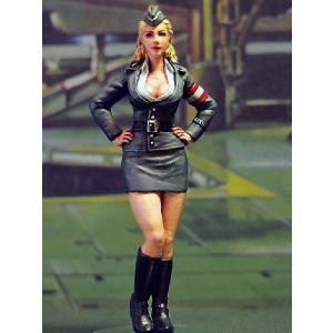 ミリタリーガール ver.2  Military Girl ver.2  1/24  [24AM-004]|miniature-park