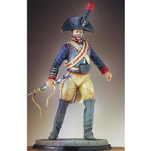 イギリス軍 王立近衛騎兵連隊 将校 フランダース 1794年(旧パッケ) Royal Horse Guard 1794 Flanders 54mm miniature-park
