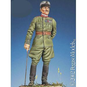 イタリア空軍 エースパイロット「イタリアの跳ね馬」 フランチェスコ・バラッカ  Francesco Baracca (resin)  1/32[PEG54-129]|miniature-park