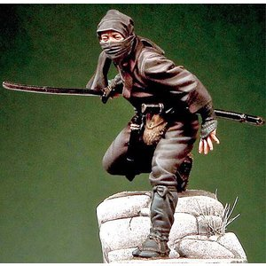 日本の忍者 Nippon Warrior Ninja Assassin  54mm|miniature-park