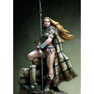 古代ケルト イケニ族の女王 ボウディッカ Boadicea queen of Iceni 75mm【セール対象外】|miniature-park