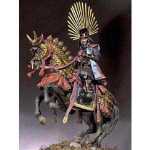 戦国大名 豊臣秀吉(騎馬) Hideyoshi Toyotomi 75mm|miniature-park