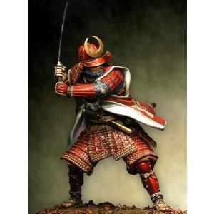 鎧を着たサムライ Samurai in full armour(90-048と対になります) 90mm|miniature-park