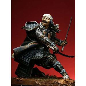 一騎打ちのサムライ Duelling Samurai(90-047と対になります) 90mm|miniature-park