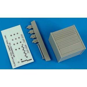 現用アメリカ空軍 飛行場の移動式キャビネット(引き出し8段)  USAF Flightline toll cabinet (roll cab) 8 drawers  1/32|miniature-park