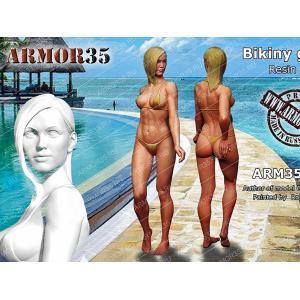 ビキニガール #3  Bikiny girl (3), Resin   1/35 [ARM3503BG]