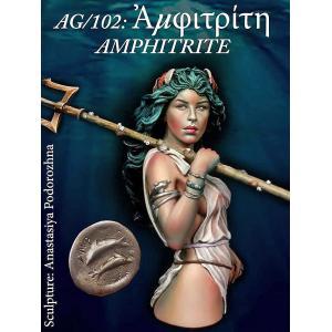 ギリシャ神話 海の女神 アムピトリーテー AMPHITRITE, GODDESS OF THE SEA  200mmバスト|miniature-park