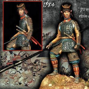 前田利家勢のサムライ 1584年  SAMURAI OF TOSHIIE'S ARMY, 1584 70mm[AXO111]|miniature-park