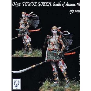 巴御前 粟津の戦い 1184年 TOMOE GOZEN, Battle of Awazu, 1184 90mm|miniature-park
