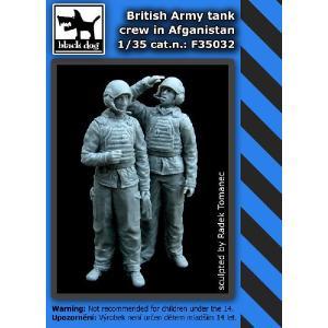 現用イギリス陸軍 戦車クルー アフガニスタン(2体入)  British army tank crew in Afganistan  1/35|miniature-park