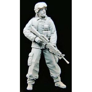 現用アメリカ軍 兵士 イラク No.1  Us soldier in Iraq No.1 1/35 miniature-park