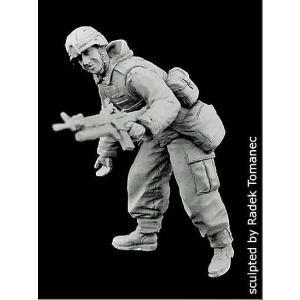 現用アメリカ軍 兵士 パトロール 不朽の自由作戦 No.2 US soldier patrol operation FREEDOM No.2 1/35|miniature-park