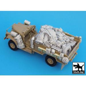 イギリス軍 SAS デザートシボレー アフリカ アクセサリーセット(タミヤ用) British SAS Chevrolet Africa for Tamiya 1/35 [BD-T35015]|miniature-park
