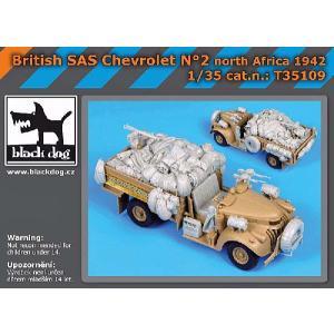 イギリス軍 SASデザートシボレー 北アフリカ 1942年 改造セットNo.2(タミヤ用) British SAS chevrolet No.2 North Africa 1942 1/35 [BD-T35109]|miniature-park