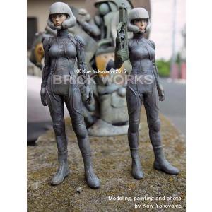 ROBOT BATTLE Vよりハンナ中尉(2ポーズ選択可)  Lt. Hanna ROBOT BATTLE V 1/20【セール対象外】|miniature-park