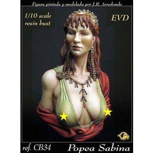 ポッパエア・サビナ(古代ローマ皇帝 ネロの皇妃) POPEA SABINA  1/10バスト|miniature-park