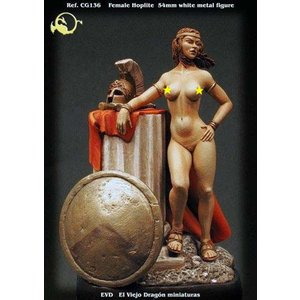 装甲歩兵(女戦士) Female Hoplite  54mm|miniature-park