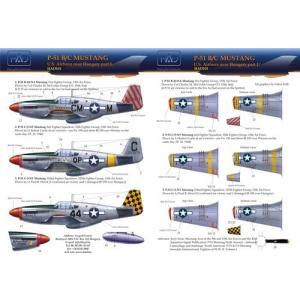 アメリカ陸軍航空隊 P-51B/Cムスタング デカール P-51 B/C Mustang 1/32|miniature-park