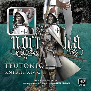 チュートン騎士団の騎士 14世紀 Teutonic Knight XIV C. 70mm|miniature-park
