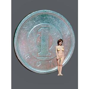 [HQ150]  レジン製女性素体 原型:林浩己 1/150(全高約1cm)【セール対象外】