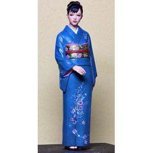 着物娘  Kimono belle  1/24 原型:林浩己 [HQ24-03]【セール対象外】|miniature-park