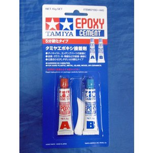 タミヤ エポキシ接着剤 TAMIYA Epoxy cement[ITEM87100]|miniature-park