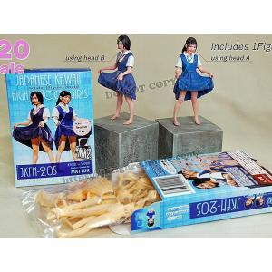 女子高生フィギュア(ヘッド2種入)  Japanese Kawaii highschool girls (2 heads included)  1/20【セール対象外】