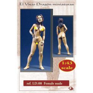 婦人のヌード Female nude  1/43[LD08]|miniature-park